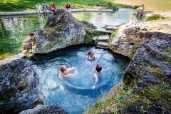 """Prírodný wellness v pravom slova zmysle. Takto prebieha """"kurírovanie"""" v Kadi. Pohodička. Kúpeľ by mal trvať 20 minút."""